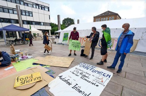 Camp in Ludwigsburg: Für das Klima auf die Straße gehen