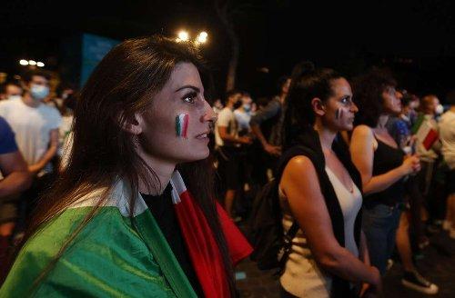 Fußball: Europameisterschaft: Fußballbegeisterung im Centro Italiano