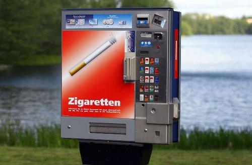 Straftat in Esslingen: Zigarettenautomat aufgebrochen