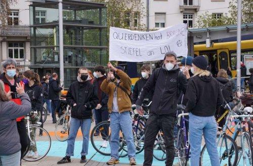Demonstrationen in Stuttgart: So verlief der Samstag auf dem Marienplatz