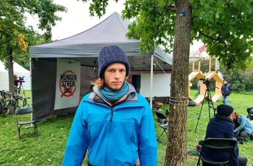 Protestaktion in Berlin: Stuttgarter Klimaaktivist spricht über seinen Ausstieg aus dem Hungerstreik