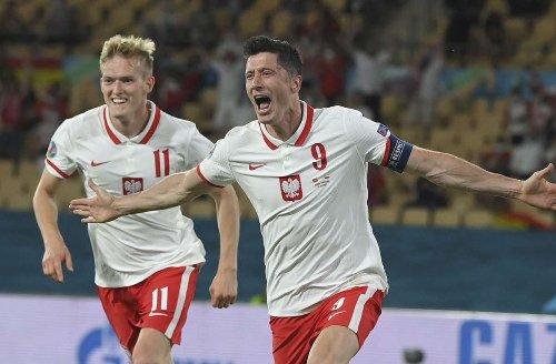 EM 2021: Robert Lewandowski rettet Polen einen Punkt – Spanien enttäuscht