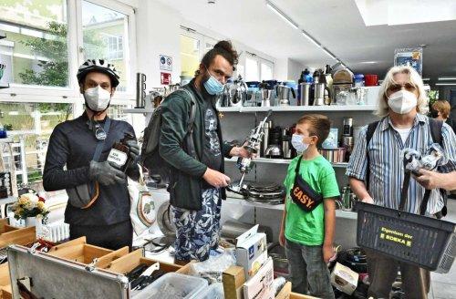 Kaufen in Esslingen: Sozialkaufhaus zieht um