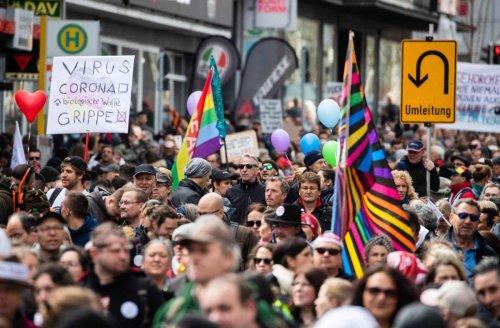 Demonstrationen in Stuttgart: Gegner der Corona-Politik dürfen am Samstag nicht demonstrieren