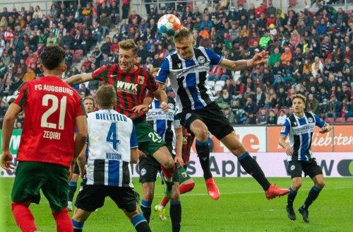 Fußball-Bundesliga: Remis imKellerduell: Augsburg und Bielefeld trennen sich 1:1