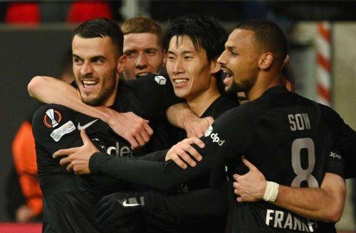 Europa League: Eintracht Frankfurt stürmt mit Sieg an die Gruppenspitze