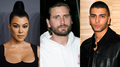 Scott Just Shaded Kourtney's Ex-Boyfriend & Hinted That 'Nobody' in Her Family Liked Him