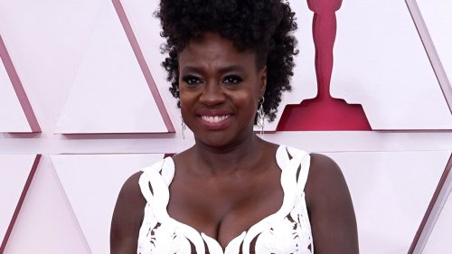 Viola Davis's Oscars Gown Features White-Hot Cutouts Galore