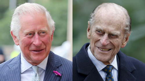 Prince Philip's Last Words to His Son Charles Were Just Revealed & They're So Dark