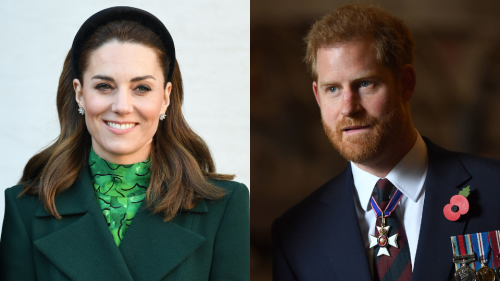 Kate Is Taking Harry's Royal Patronages Months After the Queen Stripped Them From Him & Meghan