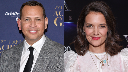A-Rod Was Just Seen Leaving Katie Holmes' Apartment After J-Lo & Ben Affleck's Reunion