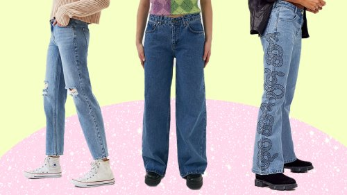 12 Pairs Of Low-Rise Jeans For A Major Midriff Moment