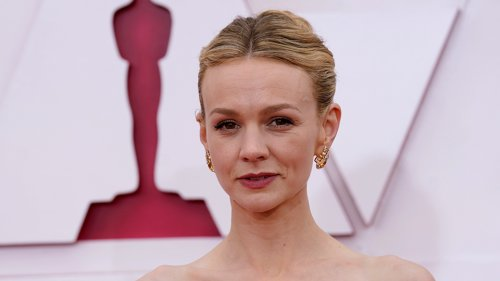 Carey Mulligan's Oscars Dress Is 'Beauty & The Beast' But Make It Fashion