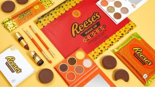 HipDot's Reese's Collection Features Actually Cool Makeup Shades That Smell Like Chocolate