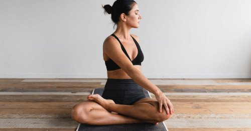 8 easy at-home stretches to combat all that sitting