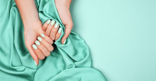 Mint nails – the autumn trend we didn't see coming