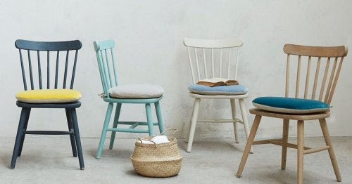 7 stylish seat cushions for comfier dining (especially outdoors)