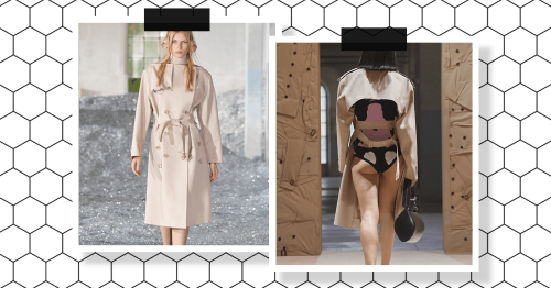 Burberry just made a huge change to its classic trench coat – and we don't know how to feel about it