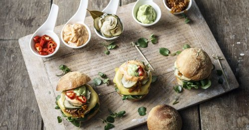 This harissa-spiced falafel burger packs in all the nutrients your body needs