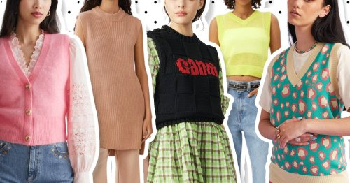 11 autumn-appropriate sleeveless knits to wear and layer up with now