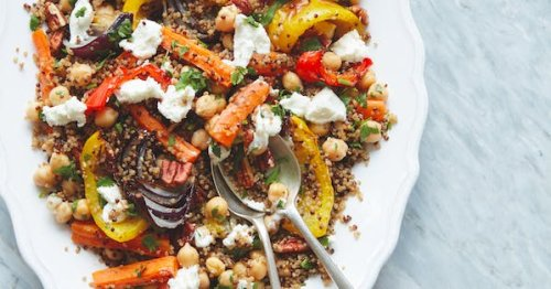 This warming roasted vegetable dinner is packed with more nutrition than carrot sticks