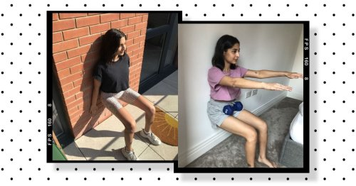 """""""I did wall sits every day for a month – here's what happened"""""""