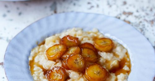 The perfect rice pudding recipe to make the night before a long run