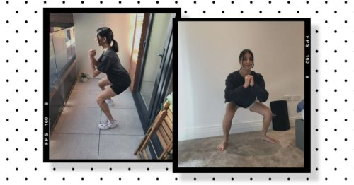 """""""I tried to achieve a 5 minute squat hold in two weeks – here's how I got on"""""""