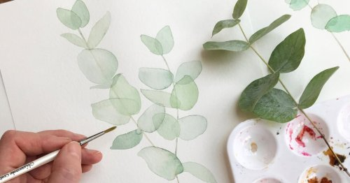 Want to give watercolour painting a go in lockdown? Here's where to start