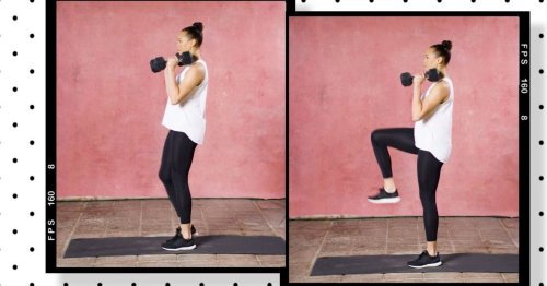 Move of the week: frong rack march – for a strong and stable body