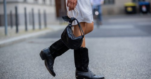 7 stylish boots to wear with your dresses when it's pouring with rain