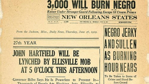 """In the Early 20th Century, Newspapers Were a Driving Force in Fueling Racial Hatred. The """"Printing Hate"""" Project Explores the Impact"""