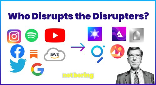 Who Disrupts the Disrupters?