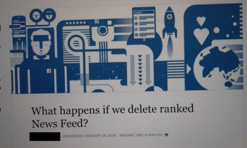 Facebook Removed The News Feed Algorithm In An Experiment. Then It Gave Up.