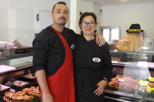 Saint-Ouen-d'Aunis : La première boucherie du village a ouvert ses portes