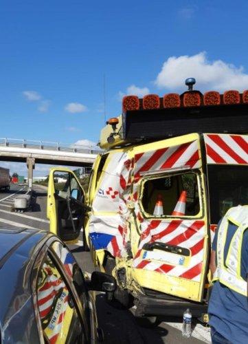 Pays basque : un véhicule de sécurité percuté sur l'autoroute A 63 à proximité de Saint-Jean-de-Luz