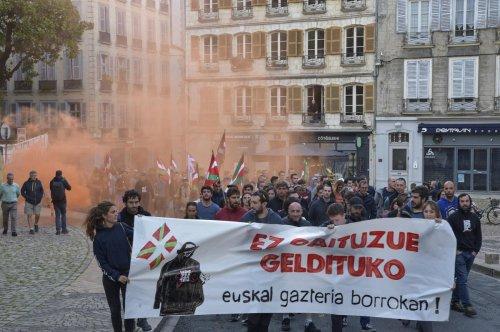 Bayonne : dans la rue pour dénoncer « les attaques contre la jeunesse basque »