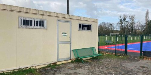 Vidéo. Dordogne : il pleut des cordes dans le local technique du Bergerac Périgord FC