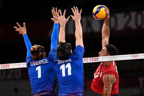 JO/Volley-ball : les Bleus plient d'entrée face aux Etats-Unis