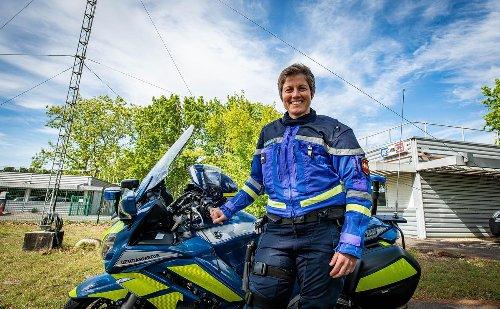 Vidéo. Sacrées Landaises : avec ses bottes de moto et son sourire, Lydie Mareschal est unique dans les Landes