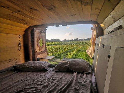 Gironde : voyage en van pour un week-end de liberté dans le Blayais
