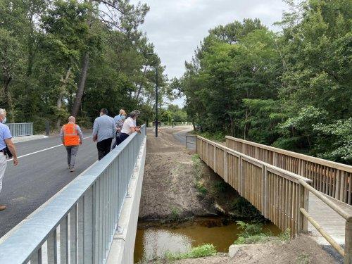 Bassin d'Arcachon : l'avenue de l'Aérodrome, qui s'était effondrée, est à nouveau ouverte entre La Teste-de-Buch et Gujan-Mestras