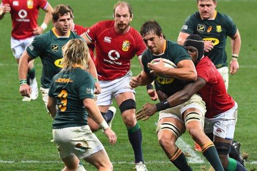 Rugby : l'Afrique du Sud s'offre une « belle » contre les Lions