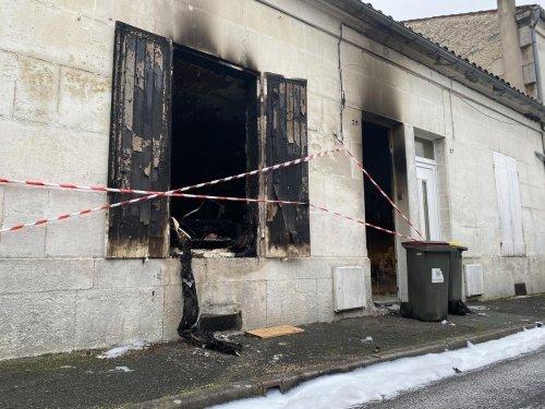 Cognac : une maison ravagée par les flammes, une habitante relogée