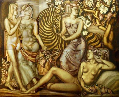 Un chef-d'œuvre retrouvé du Bordelais Buthaud exposé au Fine Arts à Paris