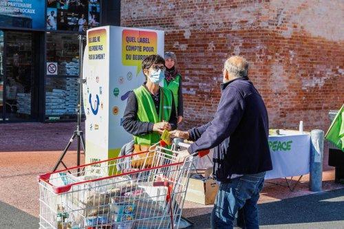 La Rochelle : Greenpeace interroge 11 labels alimentaires
