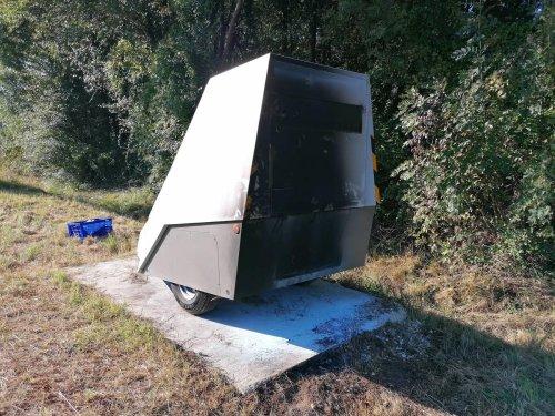 Charente-Maritime : un radar mobile une nouvelle fois incendié sur la RD 137