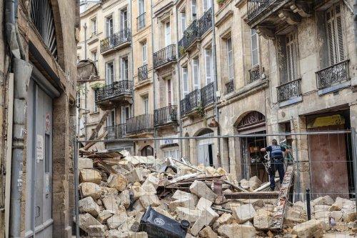 Immeubles effondrés à Bordeaux : rue de la Rousselle, les travaux reprennent le 2 novembre