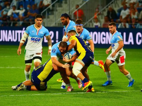 Rugby/Pro D2 : les Bayonnais, peu inspirés, partagent les points avec de solides Neversois (23-23)