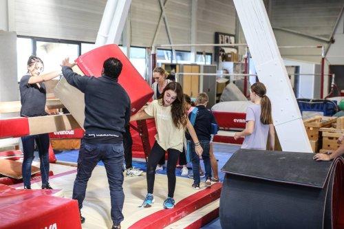 Pau : l'Union gymnique paloise retrouve sa salle d'agrès